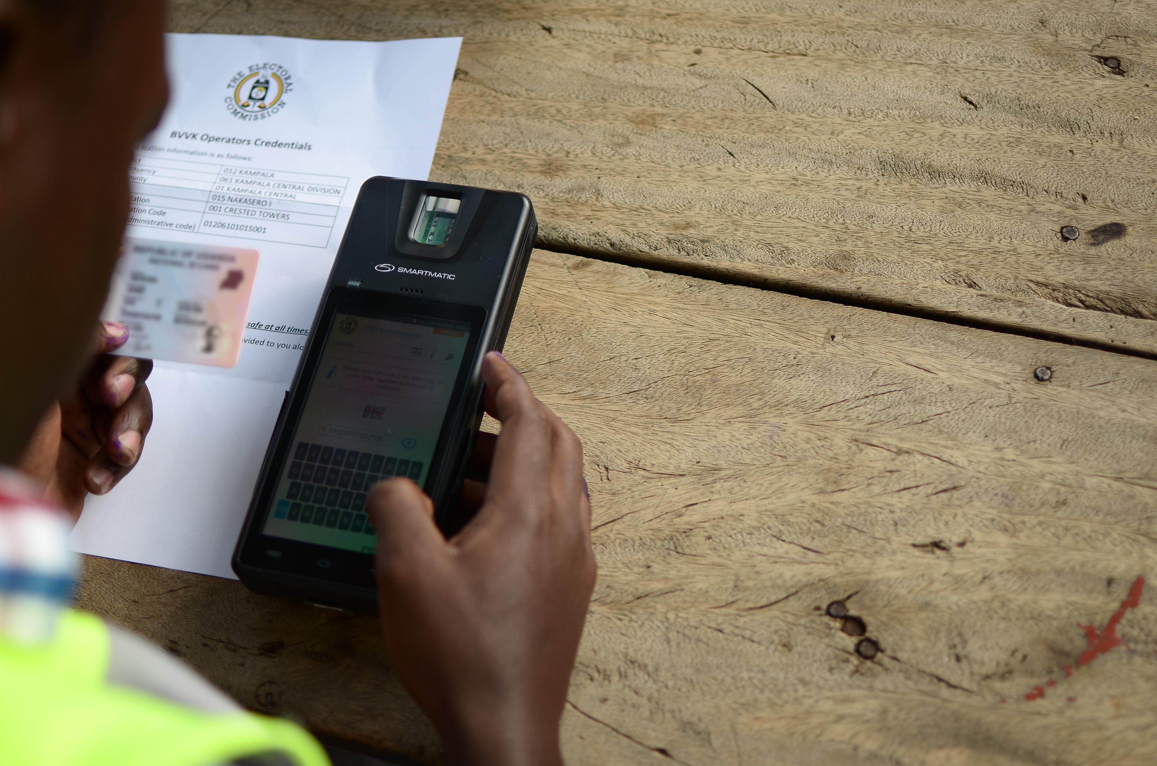 Biometría technology - Uganda elections