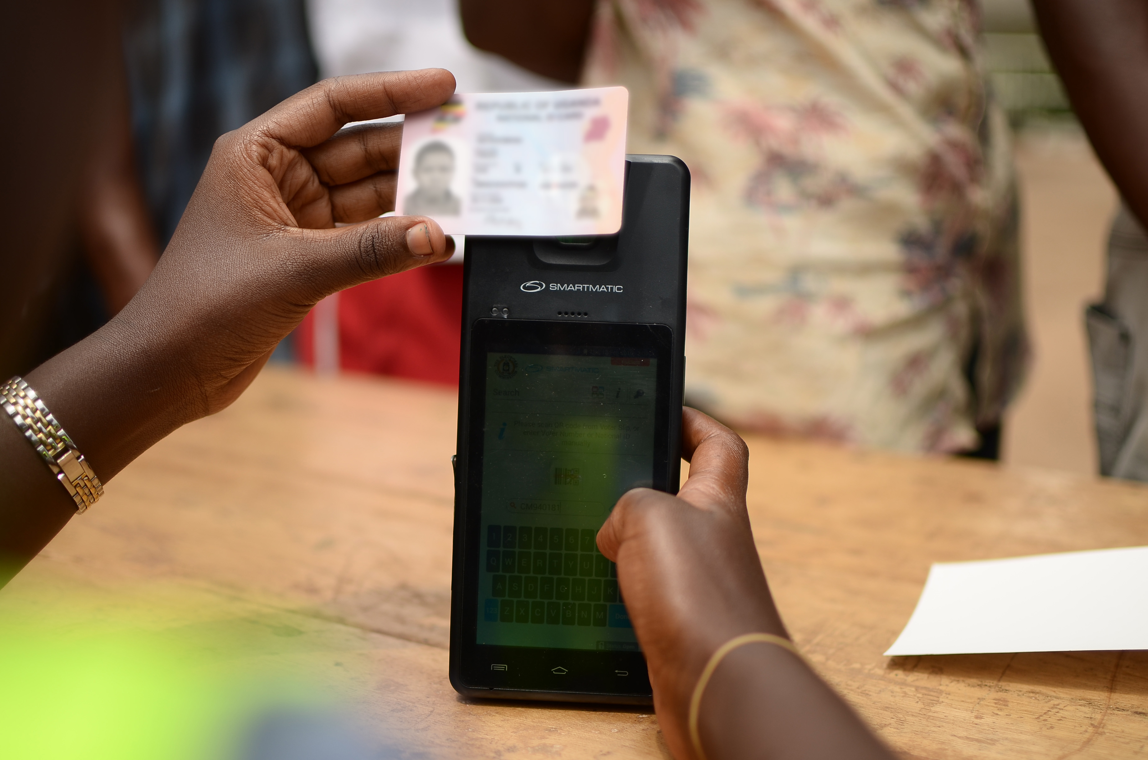 Biometric technology - Uganda elections
