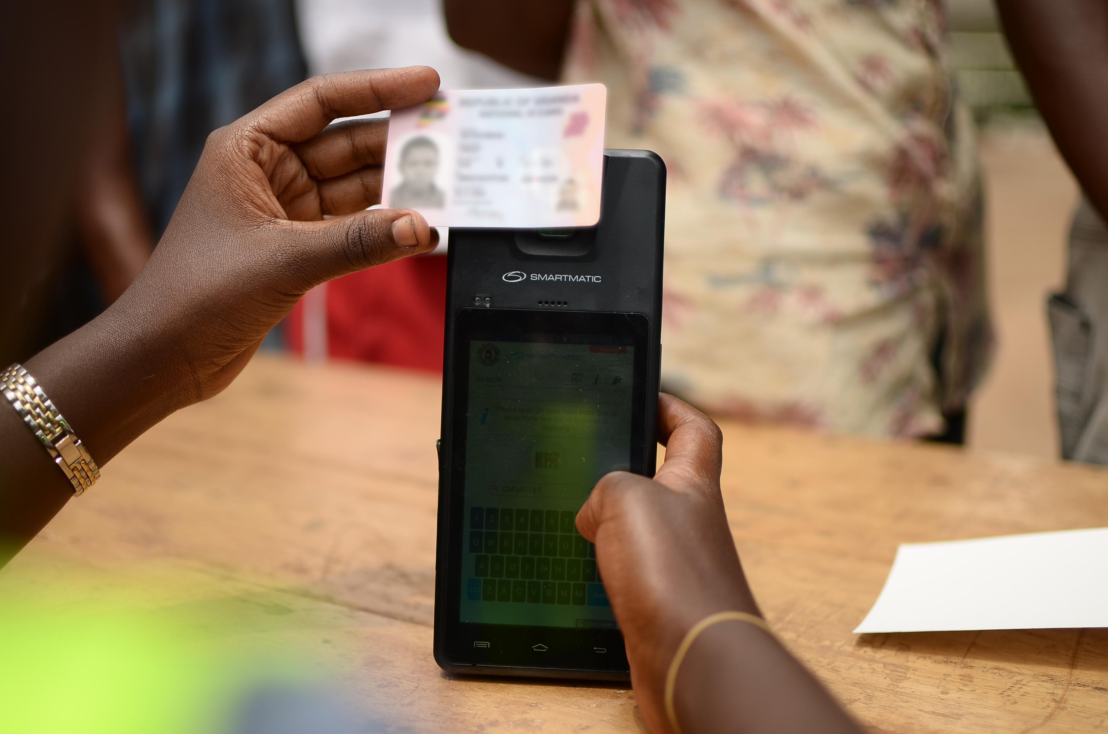 Biometric technology - Uganda elections