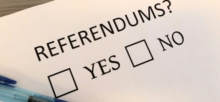 Independence referenda and e-voting: two converging trends