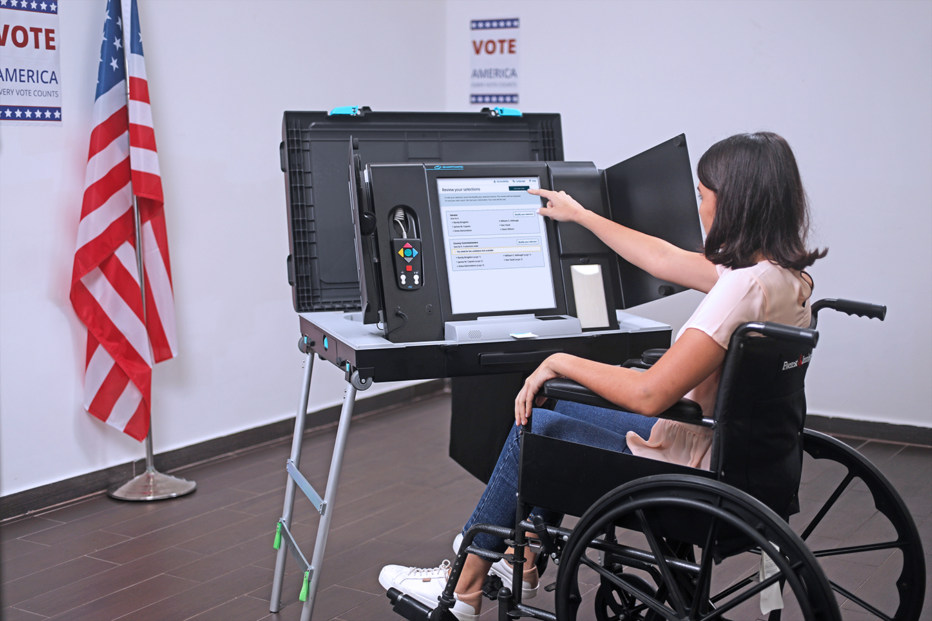 Accessibility Smartmatic - US Voting