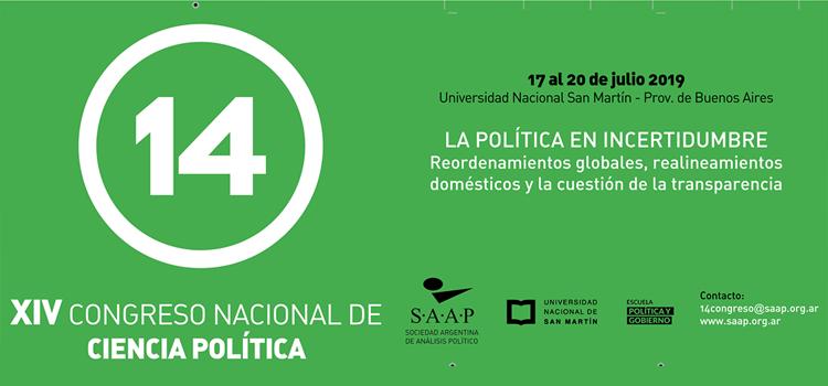 XIV Congreso Nacional de Ciencia Política en Buenos Aires promueve la modernización electoral
