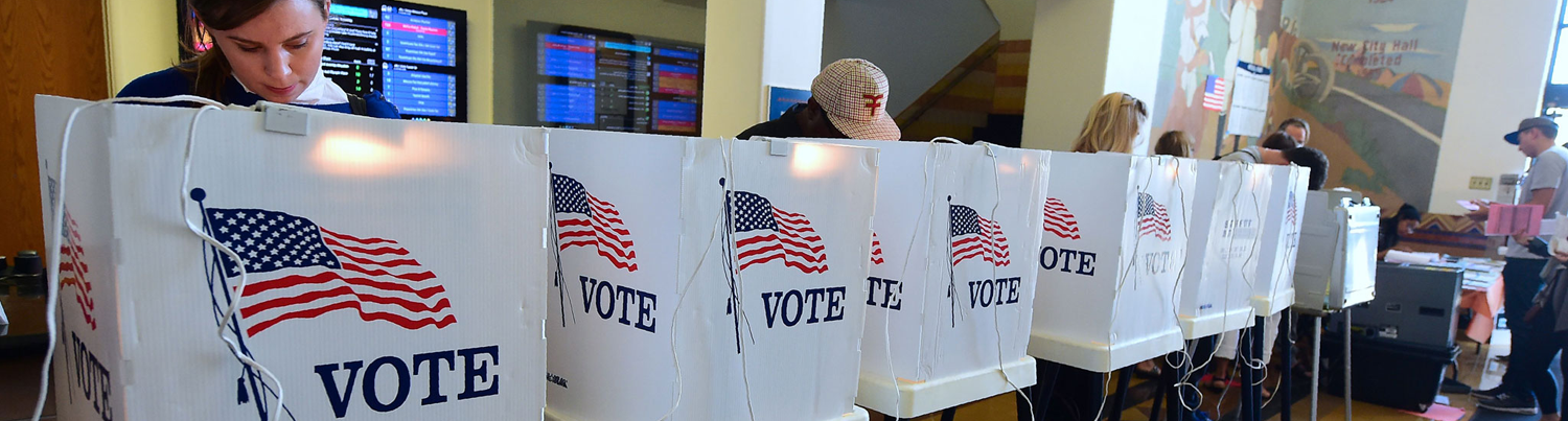 #USElectionsSurvey 79% of American voters demand better voting technology