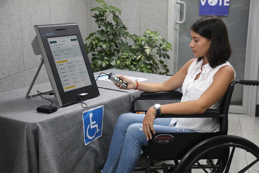 voter accessibility - smartmatic